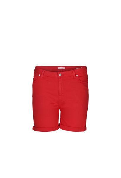 Katoenen short met 5 zakken - Oranje