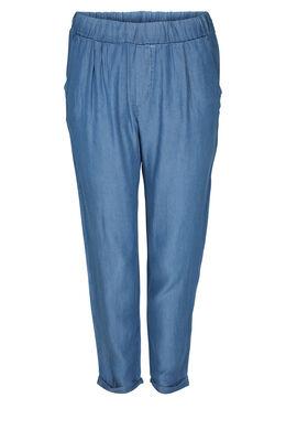 Kuitbroek in lyocell-jeans, Denim