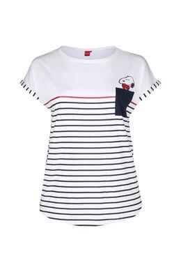 T-shirt de nuit Snoopy, Blanc