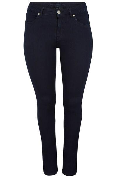 Skinny jeans met 5 zakken - Marineblauw