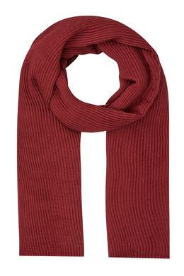 Sjaal van plooitjesstof, Marineblauw