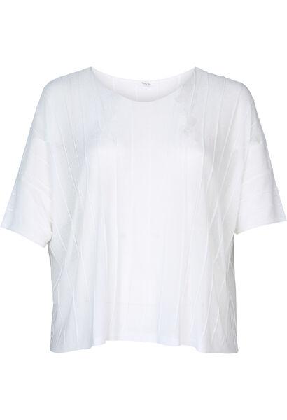 Pull forme boite - Blanc