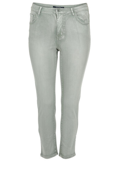 Pantalon slim urbain - Kaki-clair