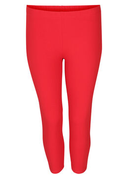 Legging en coton bio, Rouge