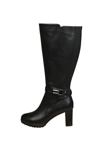 Laarzen met hoge hakken - Zwart