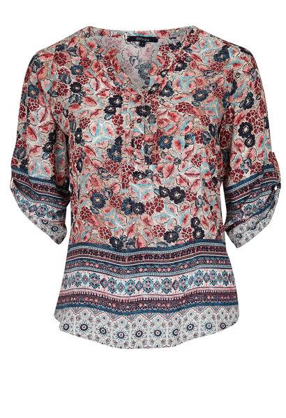 Bedrukt shirt - Blush