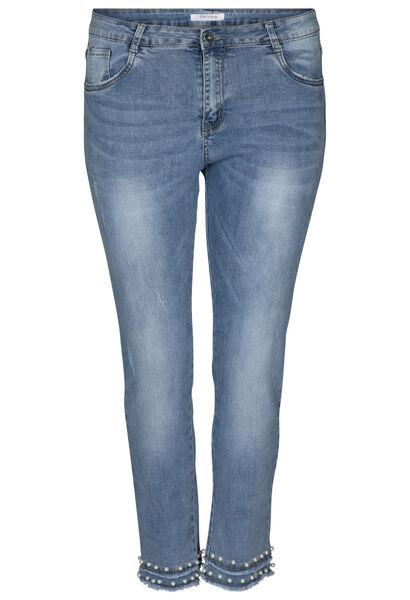 Pantacourt en jeans - Denim
