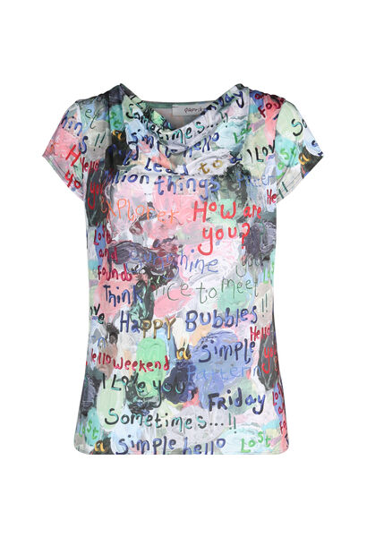 T-shirt maille froide imprimé - multicolor
