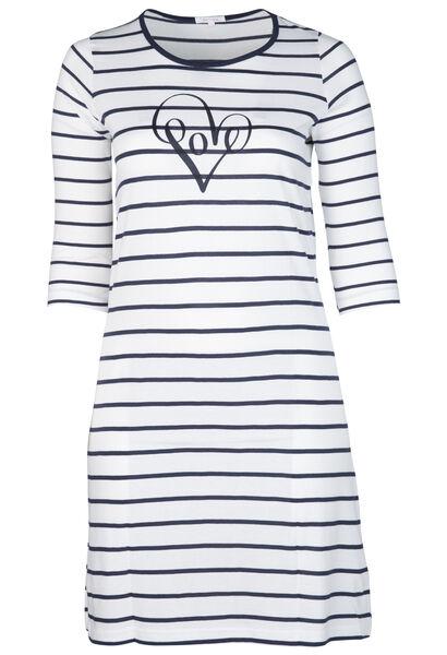 Nachtkleed met Love op - Marineblauw