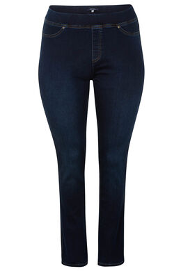 Slim jegging in jeansstof, Denim