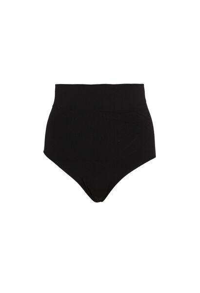 Vormgevende shorty - Zwart