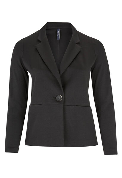 Blazer en jersey - Noir