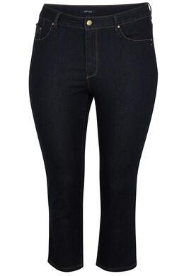 Korte jeans met 5 zakken, Denim