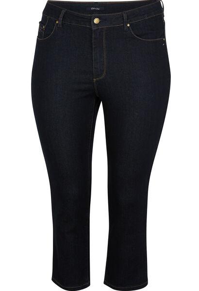 Korte jeans met 5 zakken - Denim