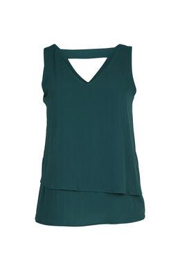 Bloes met een strik op de rug, Groen