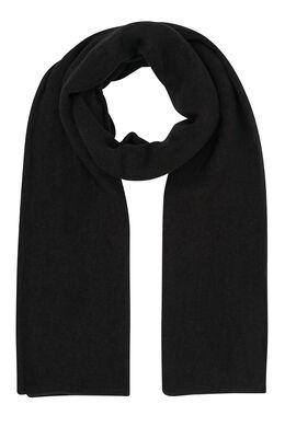 Effen sjaal, Zwart
