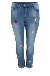 Jeans Nina met applicaties