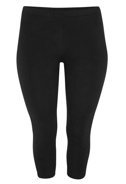 3/4-legging - Zwart