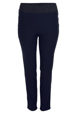 Pantalon de ville stretch, Marine