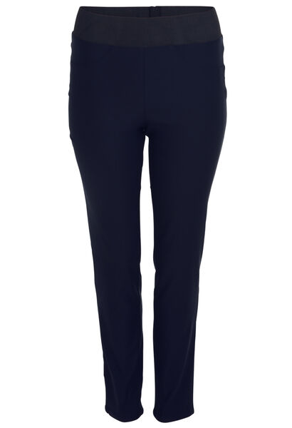 Pantalon de ville stretch - Marine