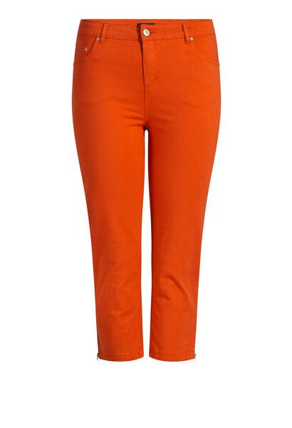 Vormgevende kuitbroek in katoen - Oranje