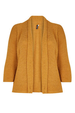 Gilet effet loose, Ocre