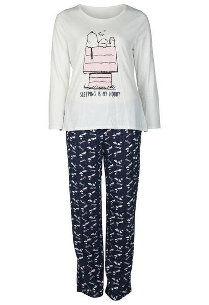 Pyjama Snoopy - Marineblauw