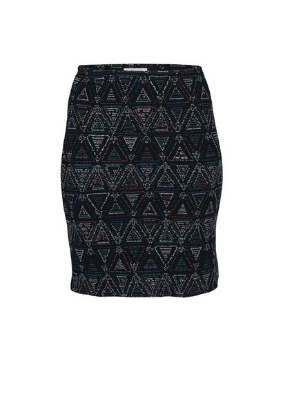Rok in jacquard - Multicolor