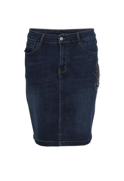 Kokerrok van jeans - Denim