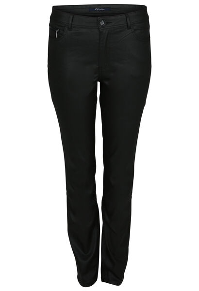 Pantalon enduit 5 poches - Noir