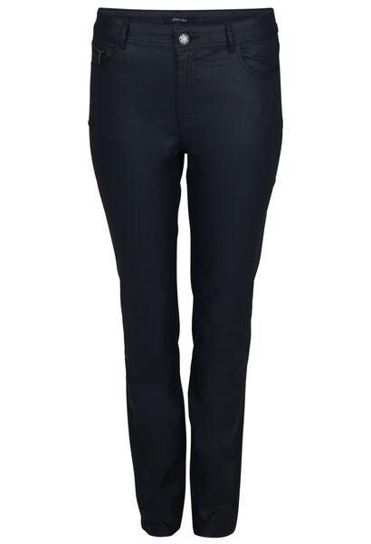 Pantalon enduit 5 poches - Marine