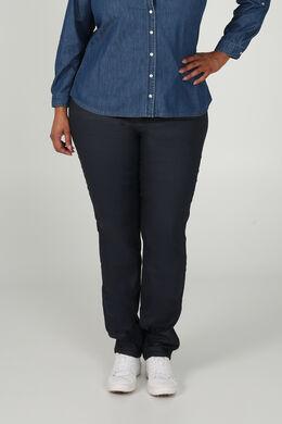 Gecoate broek met 5 zakken, Marineblauw