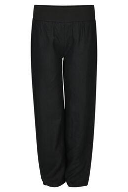 Pantalon en lin, Noir