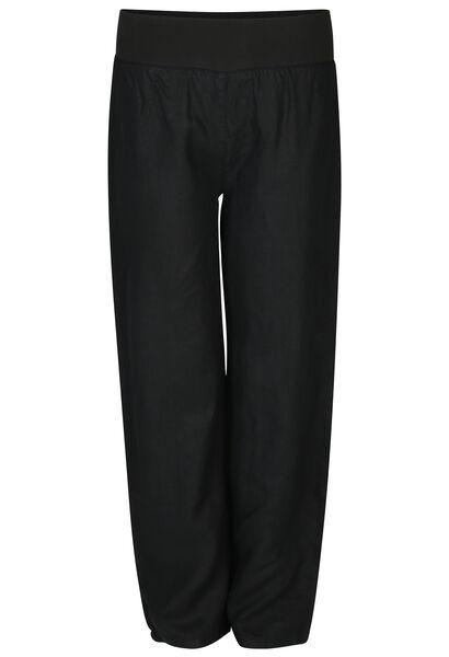 Pantalon en lin - Noir
