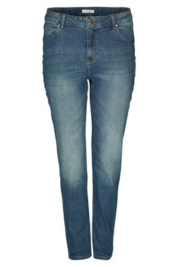 Jeans slim 5 poches, Denim