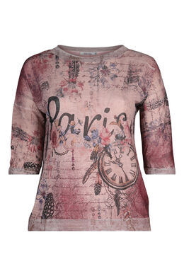 T-shirt 'Paris', Oudroze