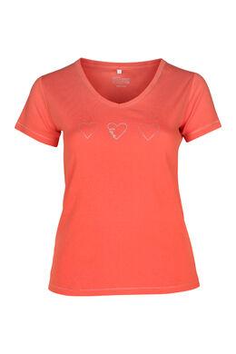 T-shirt biologisch katoen, Oranje