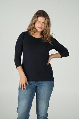 T-shirt en coton biologique, Marine