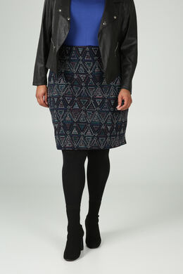 Rok in jacquard, Multicolor