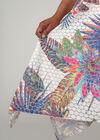 Lange jurkmet jungleprint, Multicolor
