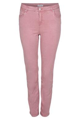 Pantalon 5 poches, Vieux rose