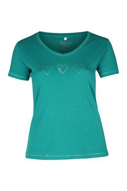 T-shirt coton bio, emeraude