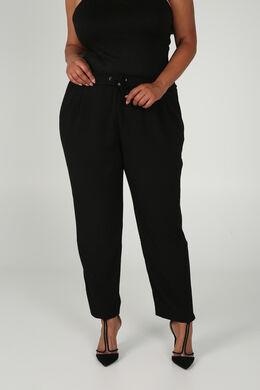 Pantalon de ville fluide, Noir