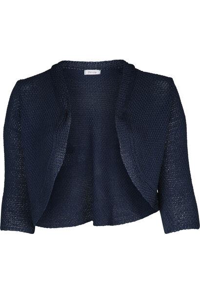Bolero in tricot - Indigo