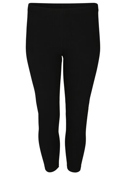 Legging en coton bio - Noir