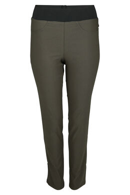 Pantalon de ville stretch, Kaki