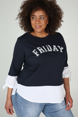 Sweat Friday, Marineblauw