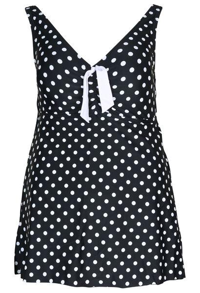 Maillot de bain robe - Noir