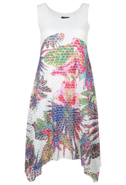 Lange jurkmet jungleprint - Multicolor