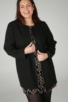 Longue veste, Noir